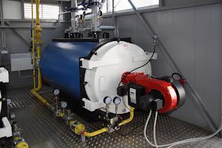 industrial steam boiler gas fired