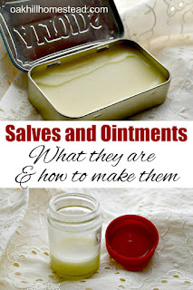 Salves and ointments - what they are and how to use them