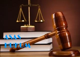 Pengertian Asas asas Hukum