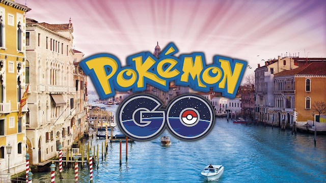 Wallpaper do Pokemon GO Veneza