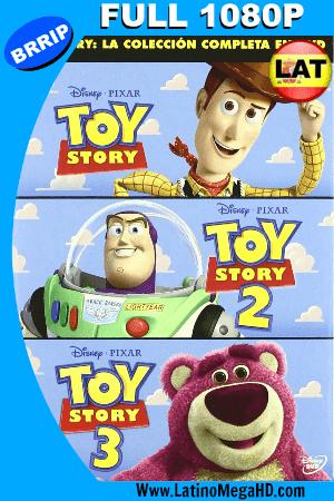 Toy Story Trilogia (1995, 1999, 2010) Latino HD 1080P ()