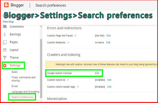 How to verify blog to google search console