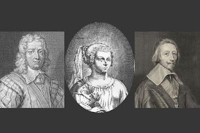 La Señorita de Gournay  Racan el Cardenal Richelieu