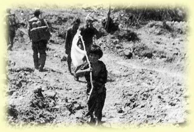 NUCHI DU TAKARA: LA CHICA CON LA BANDERA BLANCA Y JORGE OSHIRO HIGA
