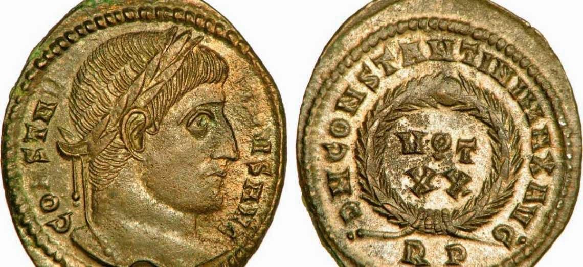 Moneda romana y sucesion en Derecho romano
