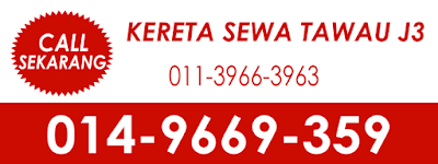 Contact J3 Tawau Car Rental at 014969359 or 01139663963