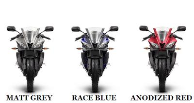 Yamaha YZF R125 Three colours option hd image