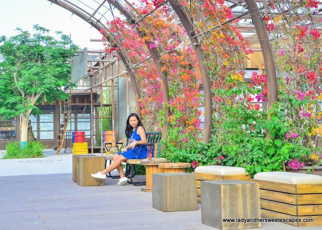 green deck in the Yard Dubai
