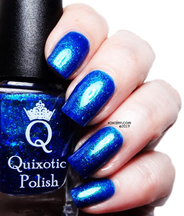 xoxoJen's swatch of Quixotic Polish Dragon Fire