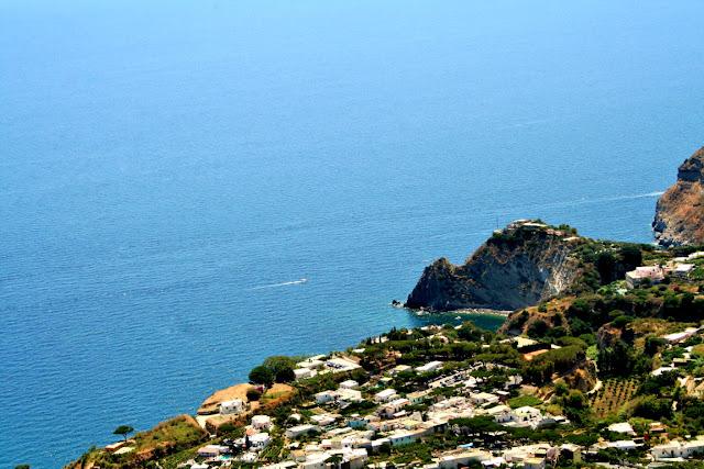 mare, acqua, isola, monti, Ischia
