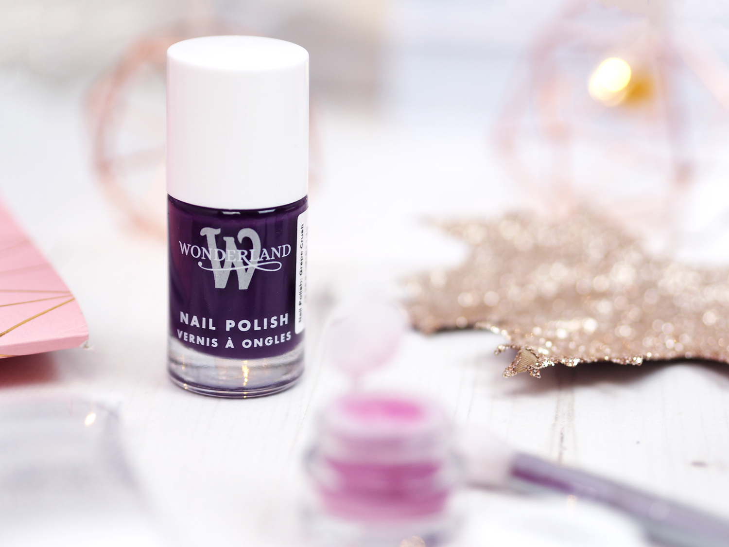 Wonderland Makeup Review Nail Polish Grape Crush