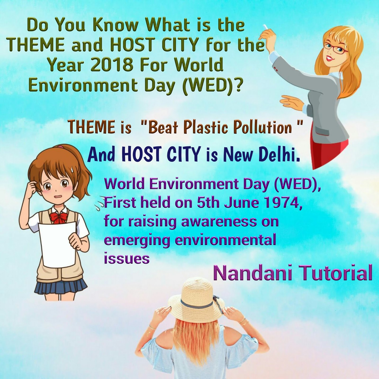 World Environment Day Wed