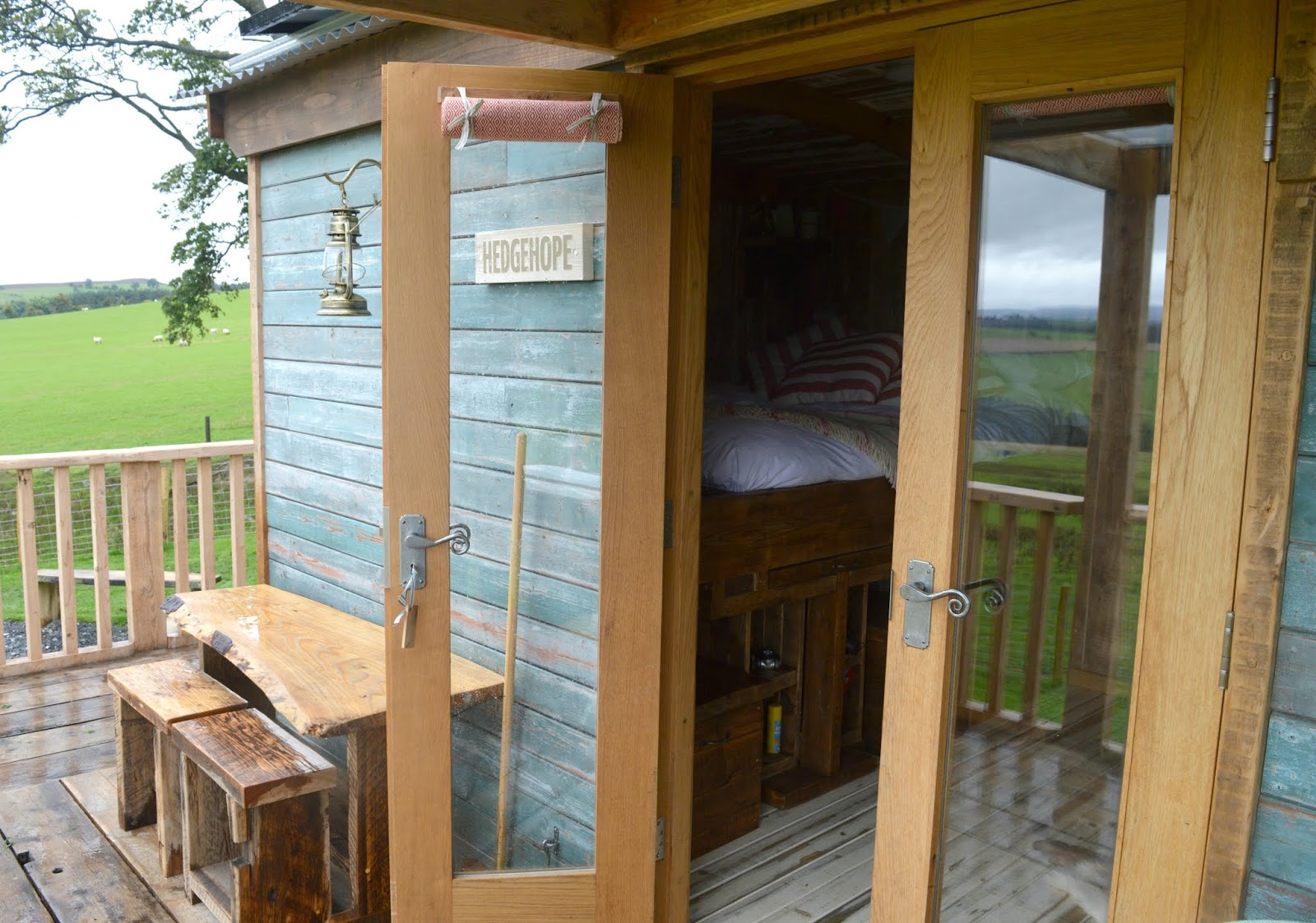 Huts in the Hills, Northumberland Luxury Glamping