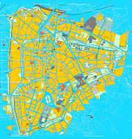 Mapa de Padova.