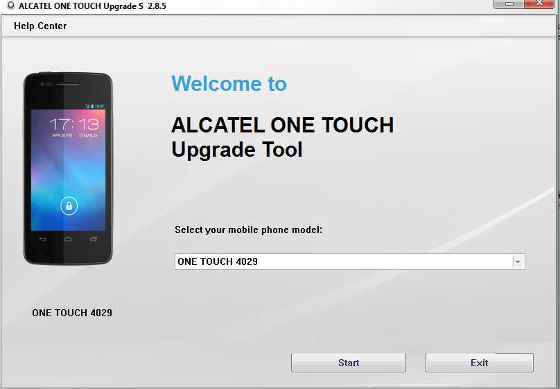 Alcatel One Touch Software Update Download Free for Windows