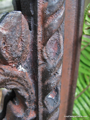 faux finish aged rust