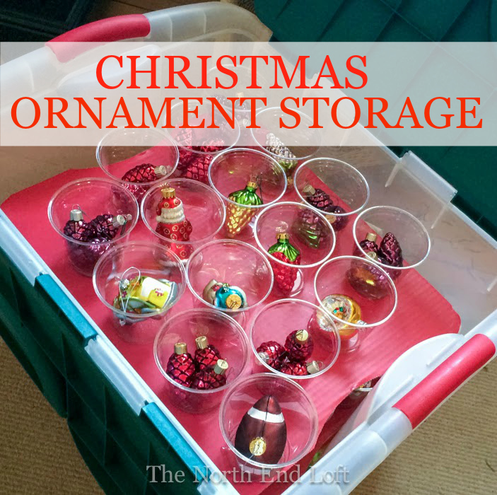 Christmas Ornament Storage.The North End Loft Christmas Ornament Storage