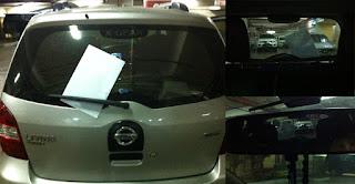 Pencurian Mobil dengan Modus Tempel Brosur
