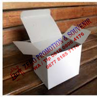 Packaging Dus Putih Standar