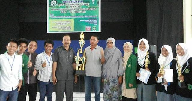 Pentas PAI IAIN Palopo Tingkat SMA, SMAN 2 Rebut Juara Umum