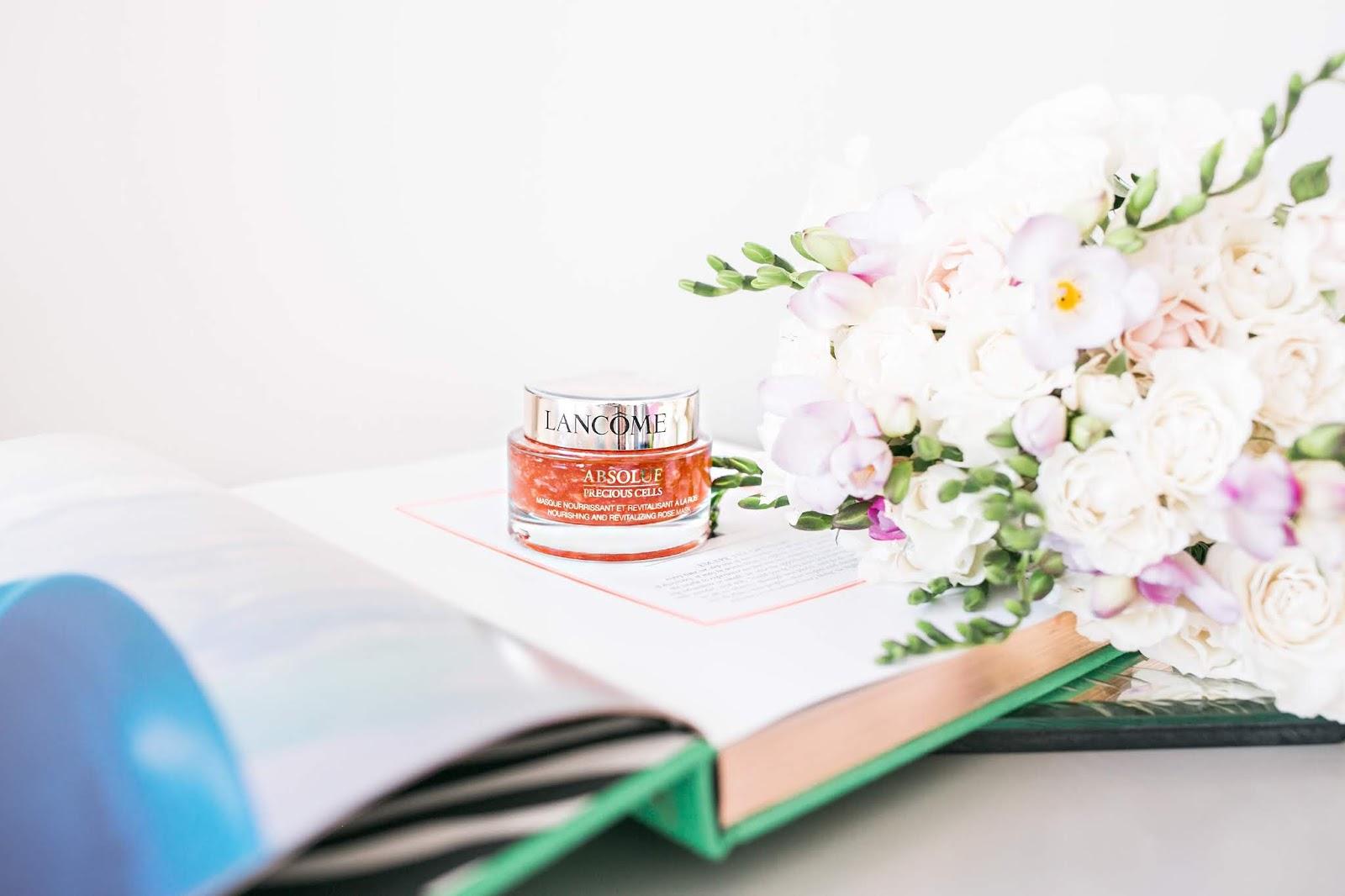 Bijuleni -Lancôme Absolue Precious Cells Rose Mask