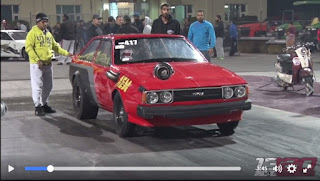 Corolla DX Menggila Di Lintasan Drag Race ARAB..GILAAAA !!!!