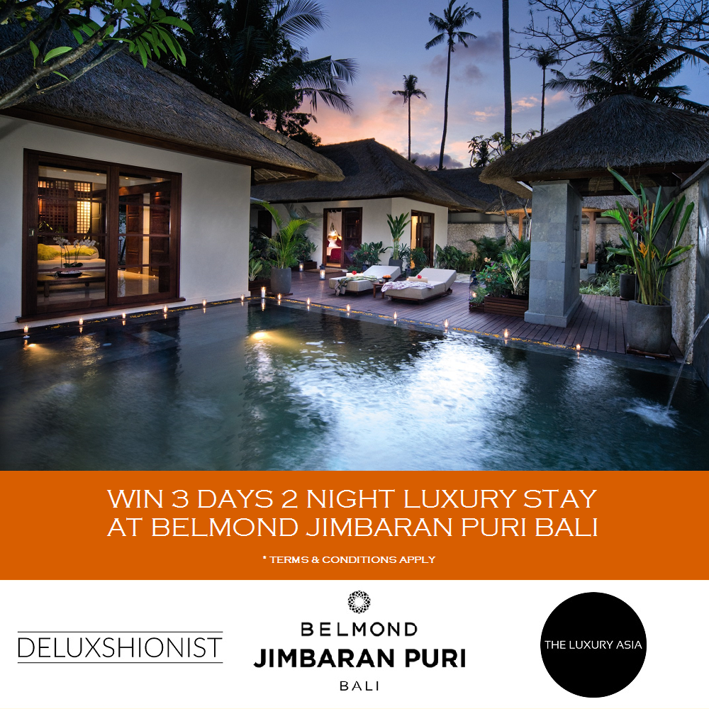 WIN 3D2N LUXURY STAY AT BELMOND JIMBARAN PURI BALI
