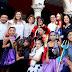 Reinan gracia y colorido en el desfile infantil de Carnaval