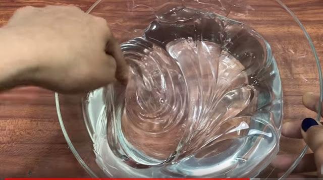 Cara membuat Slime Clear