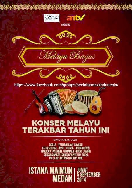 Konser Melayu Bagus di Istana Maimun