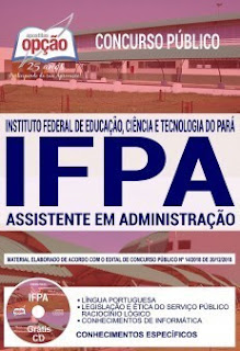 Download Apostila Concurso IFPA 2019 PDF