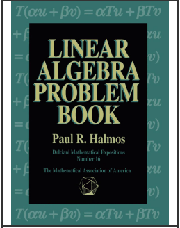 Linear Algebra Problem Book ( Dolciani Mathematical Expositions Series, No. 16)