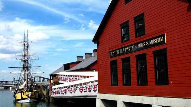 Boston tea party museum | gurlayas.blogspot.com