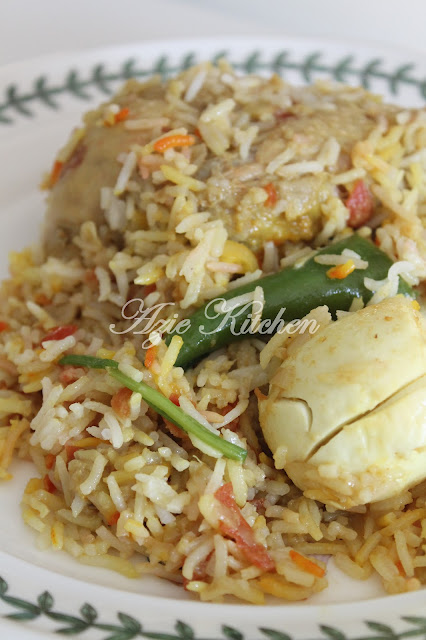 Nasi Beriyani Pakistan Azie Kitchen