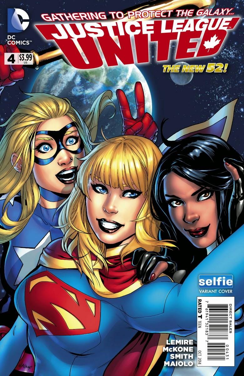 Justice League Selfie