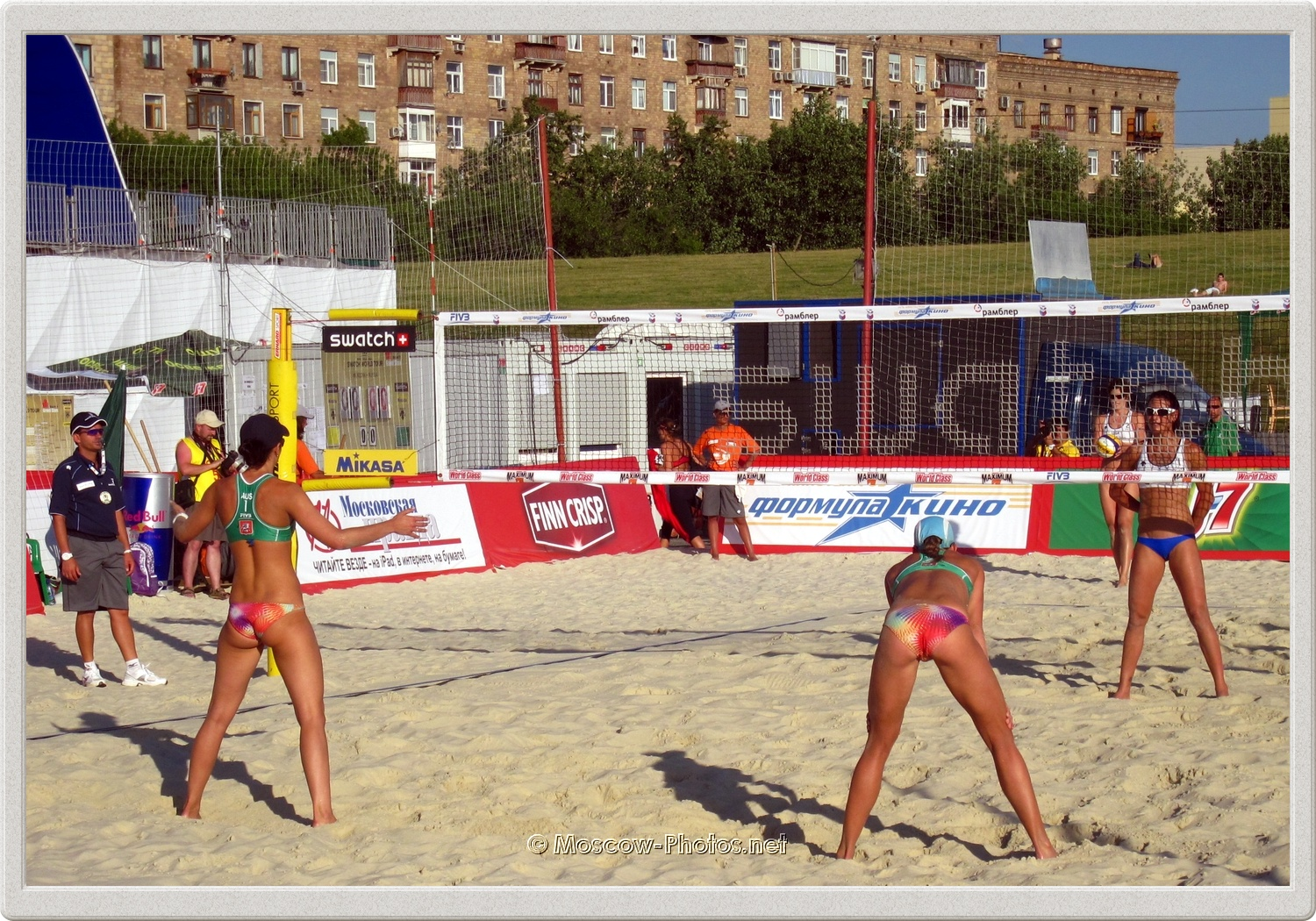 Beach Volleyball in Moscow