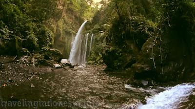 Indonesia waterfall