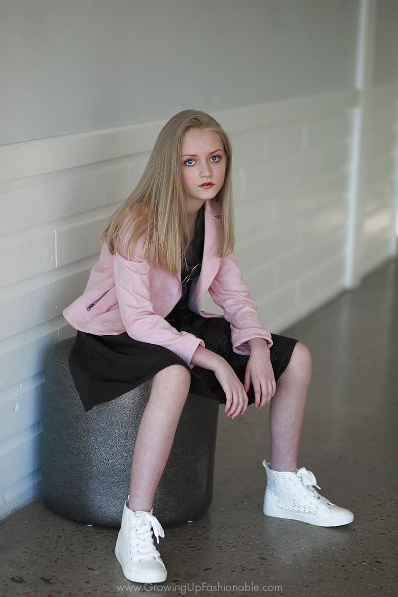 tween girl child model photography