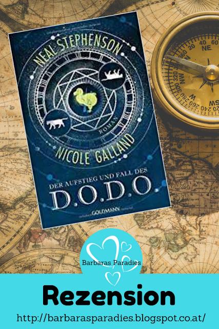 Buchrezension #244  Der Aufstieg und Fall des D.O.D.O. von Neal Stephenson und Nicole Galland