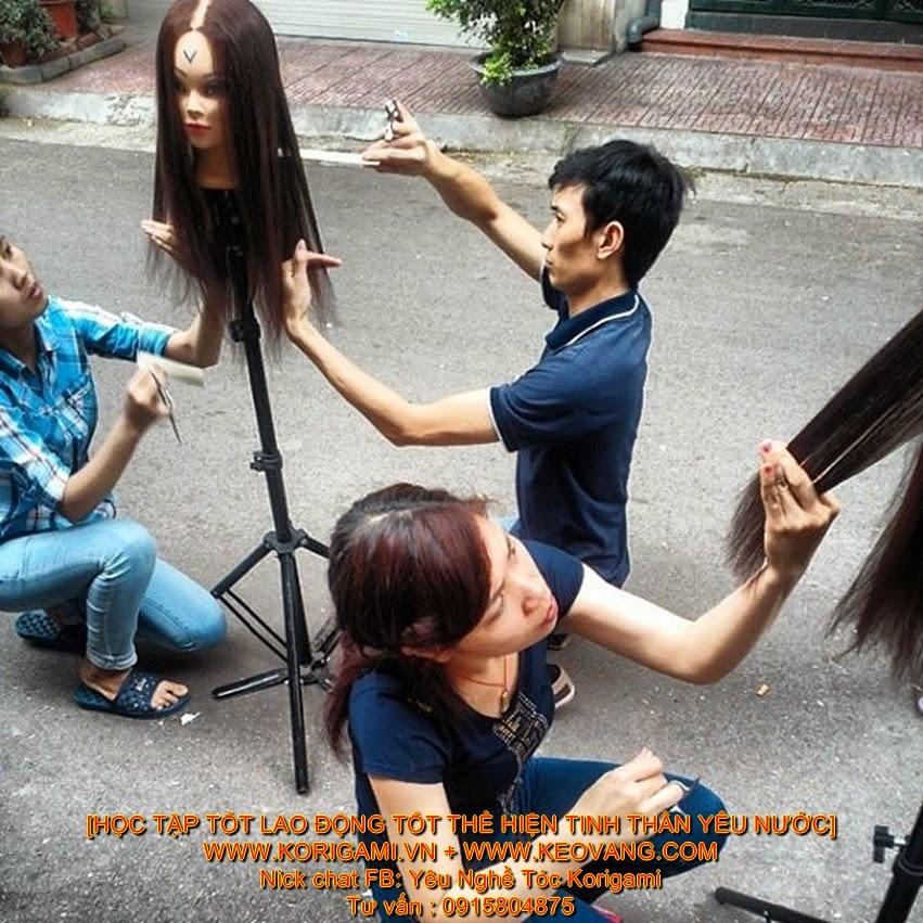 9.1 HỌC CÁC GÓC ĐỘ NÂNG BẮT TÓC - Dạy nghề tóc cấp tốc cắt tóc nam nữ học phí bảng giá địa chỉ