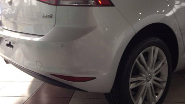 VW Golf Comfortline 2016 Prata Sargas