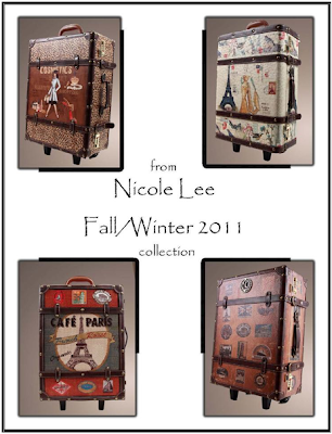 Nicole Lee Luggage Giveaway!