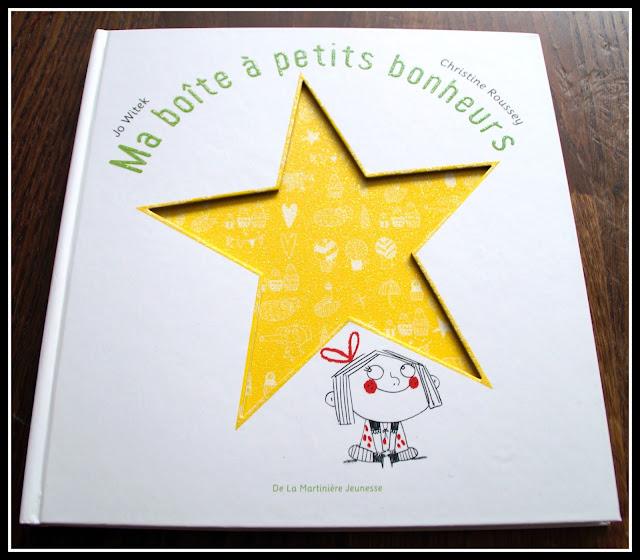 """couverture """"Ma boîte à petits bonheurs"""" de Jo Witek et Christine Roussey"""