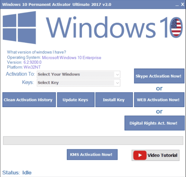 Windows 10 Activation Tool