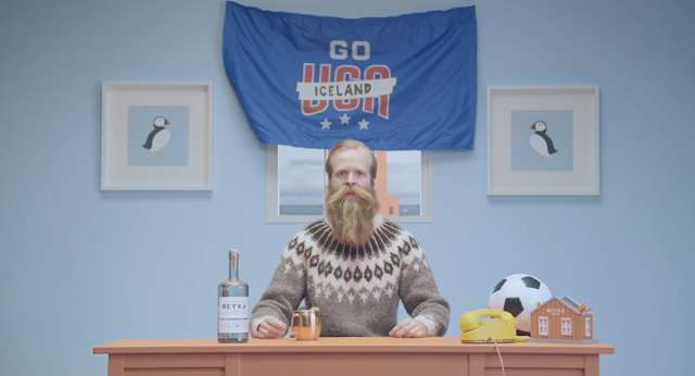 Reyka Vodka Urges Americans to Cheer for Iceland in New World Cup Campaign from RTO+P