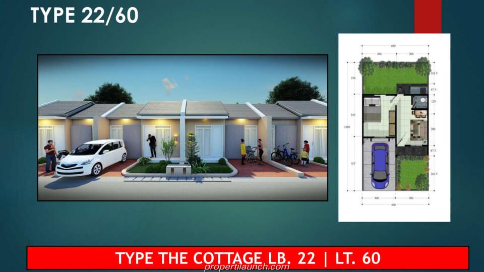 Dijual Rumah Tenjo City Bogor Tipe 22