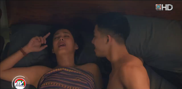 Netizens couldn't get enough with Angel Aquino-Tony Labrusca tongue scene!