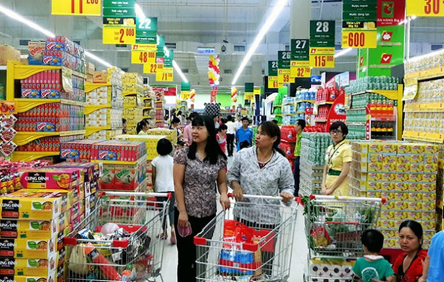 Xu hướng mua sắm tại siêu thị mini, cửa hàng tiện lợi đang tăng đáng kể