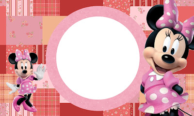 Inspired in minnie mouse free printable party invitations - Cuadros para decorar fotos gratis ...