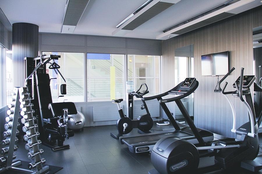 sport gym hotel  INNSIDE Düsseldorf Hafen by Melia